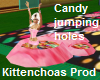 Candy jumping holes