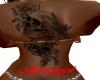Skull Back Tattoo/F