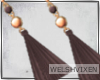 WV: Malia Cocoa Earrings