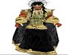 black gold robes