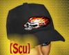 [Scu] Flaming Skull Cap