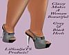 Classy Black&Gray Heels
