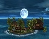 island romantic moon