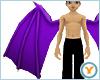 Fld Dragon Wings: Purple