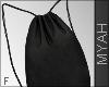 & Black Bench Bag