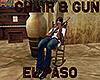 [M] EL PASO Chair & Gun