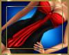 Mini Black & Red Dress