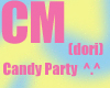 Candy Party Poster Dori