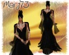 [M]Elegant dress2018 blk