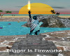 Fireworks Statue Liberty