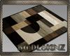 [BG]Brown Abstract Rug