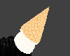 Vanilla Cone on head