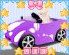 Kids Purple Toy Car