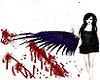 bloody wings blk