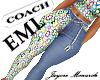 EML Coach Jeans