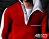 Red Tracksuit Top