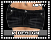-K- Hippy| Denim Black