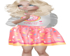 Child Donut Love Dress