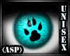 (ASP) Furry Lenses Teal