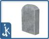 Winter tombstone #3