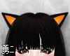 Y' Orange Neko Ears