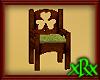 Wood Clover Chair
