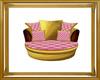 Gold&Pink Diamond Chair