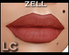LC Zell Pumpkin Red Lips