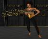 ABS Black Gold Bodysuit