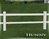 H. White Property Fence