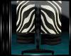 P~ zebra towels