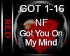  R NF - Got U On My Mind