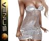 ~V~Silver Mesh Dress