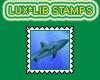 Stamp Black Tip Shark