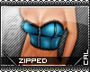 [c] Zipped Top Blue