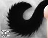 Y' Black Husky Tail