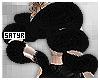 Black Fur Boa
