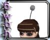 [6] Silver mog pompom