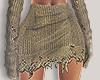 I│Knit Skirt Olive RL