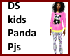 DS Kids panda pjs