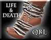 Life & Death Feet Wraps