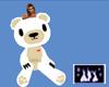 HI Huggy Bear White