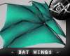 -LEXI- Bat Wings: Teal