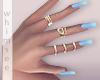 Carolina Blue Manicure