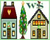 Xmas Village2 Animated