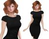 TF* Modest Black Dress