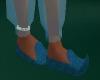 ~TQ~blue genie slippers