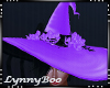 *Jinx Lilac Witch Hat