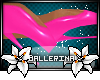 Ballet Boots -pink-