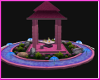 $A$ pink resort gazebo